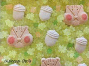 【京都】オシャレな和菓子!UCHUwagashiの落雁「りすとどんぐり」がかわいい