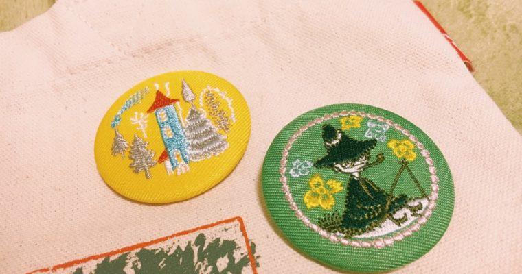 【北欧】ムーミンショップで買える刺繍ブローチがかわいい!値段は?種類は?
