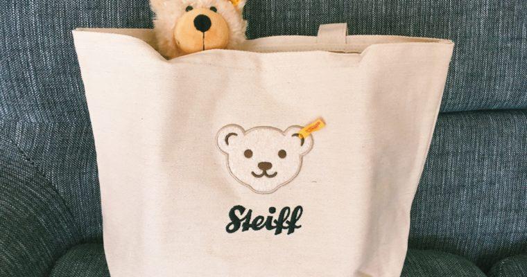 【レビュー】Steiff(シュタイフ)のムック本が発売!ふわふわ刺繍トートがかわいい♪
